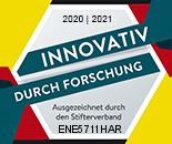 Siegel Forschung und Entwicklung 2020