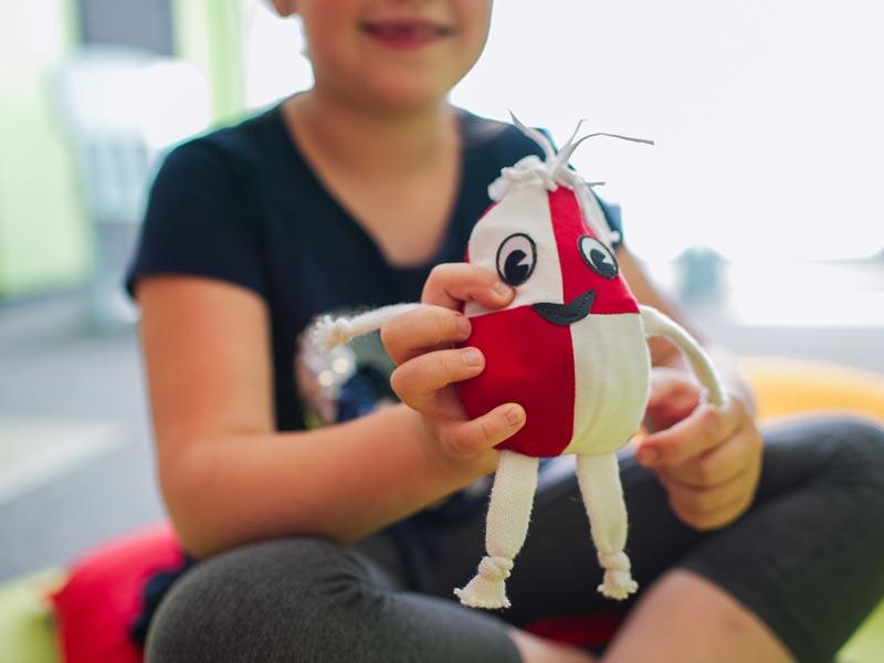 Lacrima unterstützt Kinder undJugendliche bei der Trauerarbeit